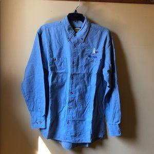 Men's Cabelas Ducks Unlimited shirt size small